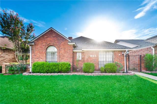 937 Marlin Drive, Mesquite, TX 75149 (MLS #14142463) :: RE/MAX Town & Country