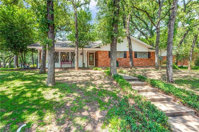 1001 Forest Oaks Lane, Hurst, TX 76262 (MLS #14142470) :: RE/MAX Town & Country