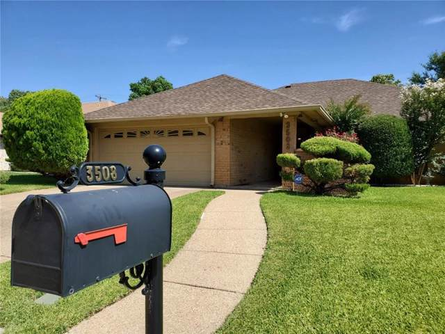 3508 Wedgworth Road S, Fort Worth, TX 76133 (MLS #14142523) :: RE/MAX Town & Country