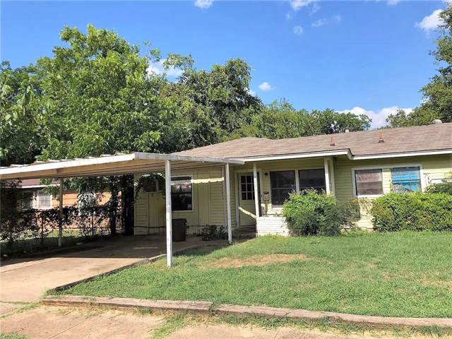 4105 Eastover Avenue, Fort Worth, TX 76119 (MLS #14142538) :: Lynn Wilson with Keller Williams DFW/Southlake