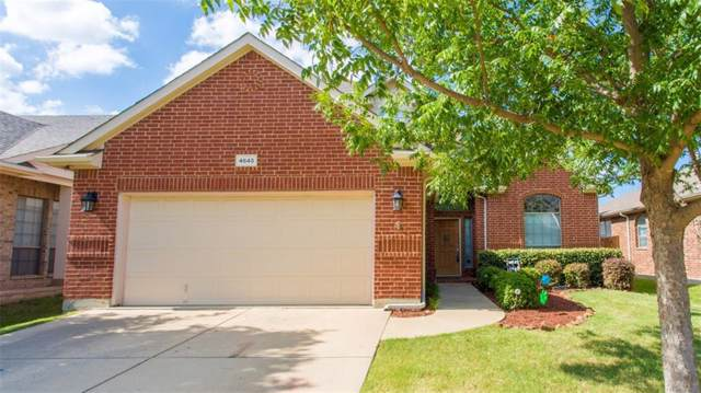 4645 Prickly Pear Drive, Fort Worth, TX 76244 (MLS #14142562) :: Vibrant Real Estate