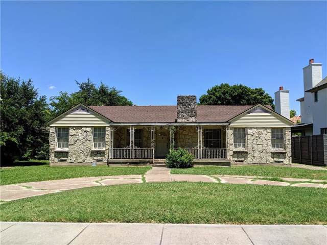 3012 Lovers Lane, University Park, TX 75225 (MLS #14142593) :: HergGroup Dallas-Fort Worth