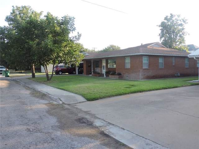 1410 N Reynolds Street N, Goldthwaite, TX 76844 (MLS #14142674) :: Team Tiller