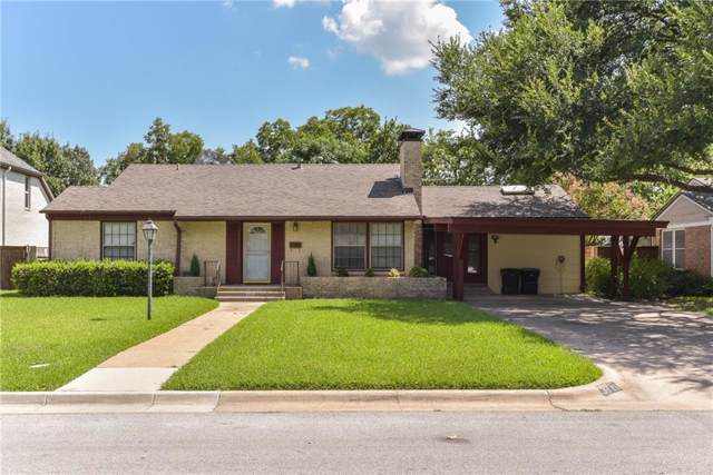 3715 Shelby Drive, Fort Worth, TX 76109 (MLS #14142677) :: The Mitchell Group