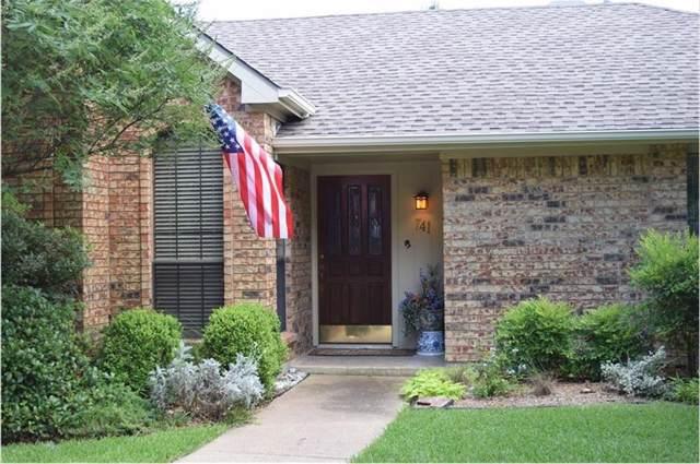 741 Sparrow Lane, Coppell, TX 75019 (MLS #14142749) :: Lynn Wilson with Keller Williams DFW/Southlake