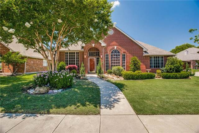 8833 Beartooth Drive, Frisco, TX 75036 (MLS #14142777) :: RE/MAX Town & Country