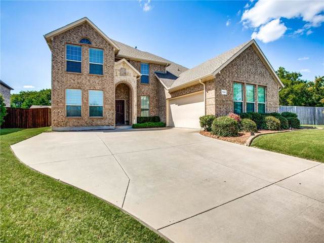 1121 Kentsdale Place, Desoto, TX 75115 (MLS #14142786) :: Kimberly Davis & Associates