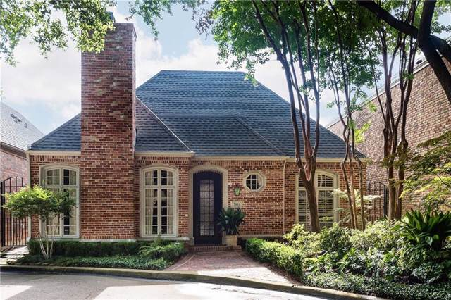 7951 Caruth Court, Dallas, TX 75225 (MLS #14142816) :: The Hornburg Real Estate Group