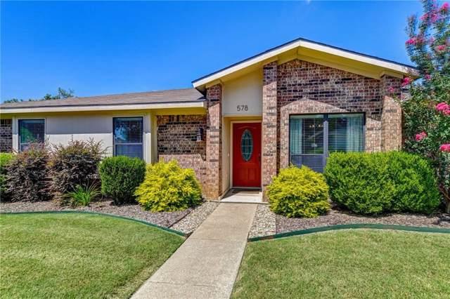 578 King Circle, Lewisville, TX 75067 (MLS #14142831) :: Lynn Wilson with Keller Williams DFW/Southlake
