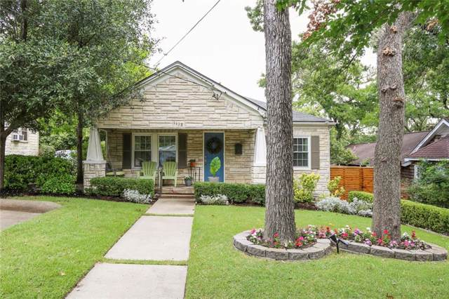 1118 Tenison Memorial Drive, Dallas, TX 75223 (MLS #14142867) :: Lynn Wilson with Keller Williams DFW/Southlake