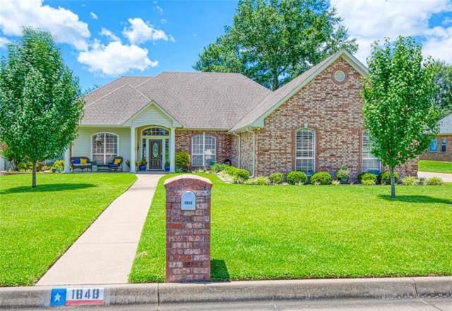 1848 Tall Timber, Tyler, TX 75703 (MLS #14142939) :: Ann Carr Real Estate