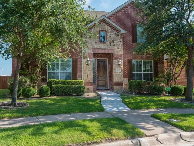 3454 Washington Drive, Frisco, TX 75034 (MLS #14142971) :: Lynn Wilson with Keller Williams DFW/Southlake