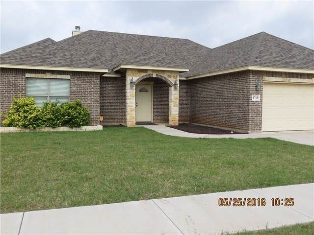 4718 Yellowstone Trail, Abilene, TX 79602 (MLS #14143004) :: The Mitchell Group