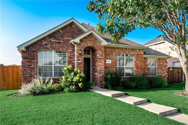 1509 Sugar Bush Trail, Allen, TX 75002 (MLS #14143023) :: RE/MAX Town & Country