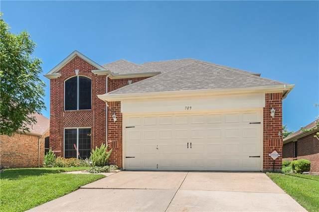 709 Lake Bridge Drive, Lake Dallas, TX 75065 (MLS #14143031) :: RE/MAX Town & Country