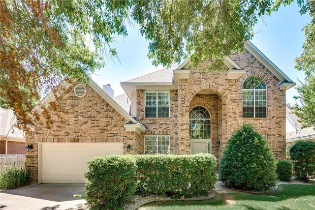 4967 Wolf Creek Trail, Flower Mound, TX 75028 (MLS #14143053) :: RE/MAX Town & Country