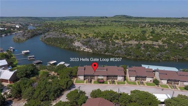 3033 Hells Gate Loop E207, Possum Kingdom Lake, TX 76475 (MLS #14143165) :: Kimberly Davis & Associates