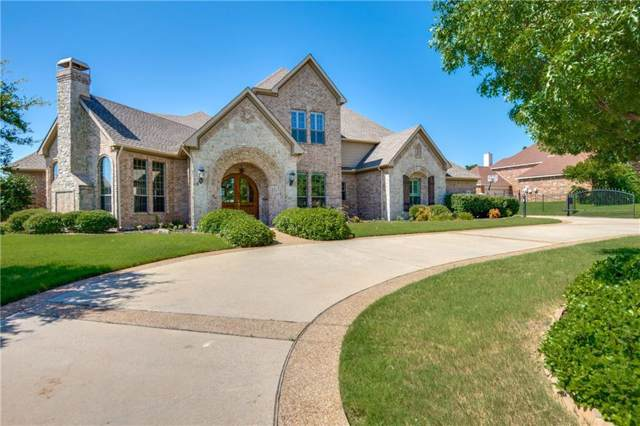 100 Eagles Peak Lane, Double Oak, TX 75077 (MLS #14143216) :: The Real Estate Station