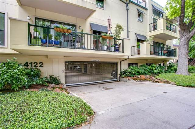 4122 Avondale Avenue #201, Dallas, TX 75219 (MLS #14143251) :: Vibrant Real Estate