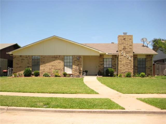 5636 Tucker Street, The Colony, TX 75056 (MLS #14143258) :: Tenesha Lusk Realty Group