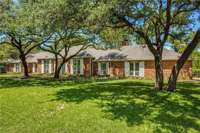 6768 Mossvine Place, Dallas, TX 75254 (MLS #14143290) :: Tenesha Lusk Realty Group