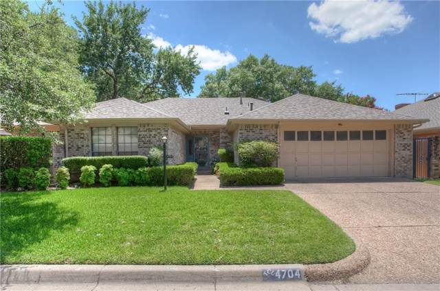 4704 Trail Bend Circle, Fort Worth, TX 76109 (MLS #14143388) :: The Mitchell Group