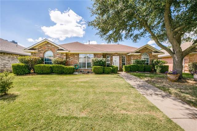 2613 Waterloo Lane, Mesquite, TX 75181 (MLS #14143449) :: All Cities Realty