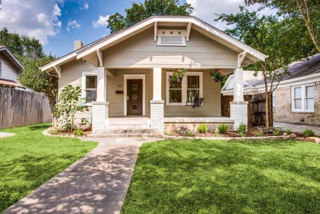 128 S Brighton Avenue, Dallas, TX 75208 (MLS #14143480) :: Baldree Home Team
