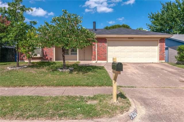 7824 Prairie Drive, Watauga, TX 76148 (MLS #14143529) :: Magnolia Realty