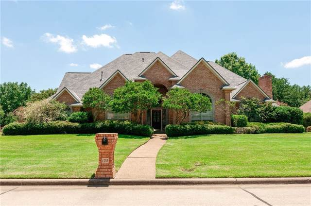 105 Colonial Square, Colleyville, TX 76034 (MLS #14143611) :: Vibrant Real Estate