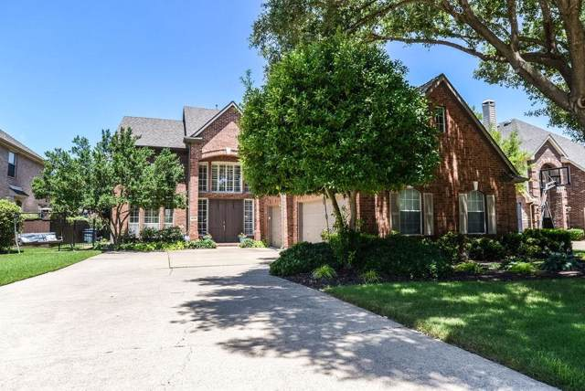 1020 Basilwood Drive, Coppell, TX 75019 (MLS #14143622) :: The Hornburg Real Estate Group