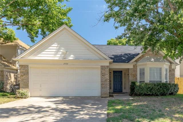 2532 Dahlia Drive, Fort Worth, TX 76123 (MLS #14143646) :: The Daniel Team