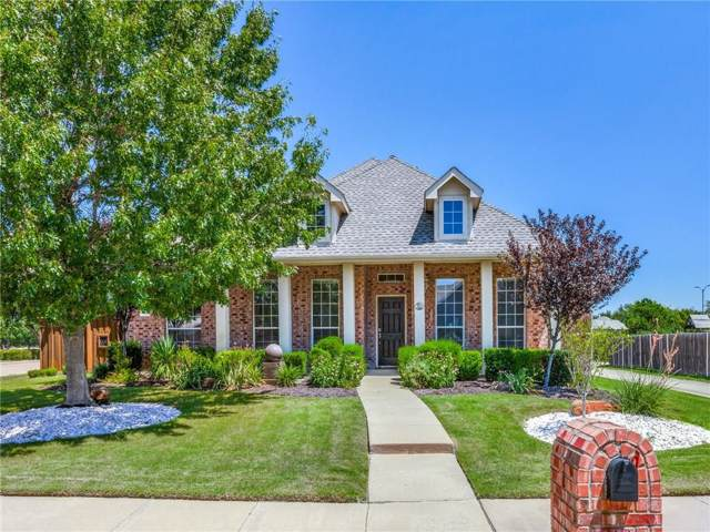 1522 Castle Pines Drive, Frisco, TX 75036 (MLS #14143676) :: Vibrant Real Estate