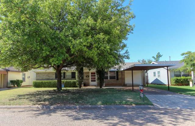 3825 Laurel Drive, Abilene, TX 79603 (MLS #14143729) :: RE/MAX Pinnacle Group REALTORS