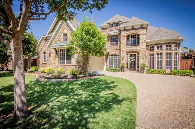 4103 Arron Court, Highland Village, TX 75077 (MLS #14143812) :: RE/MAX Town & Country