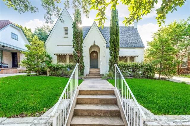 1613 Frederick Street, Fort Worth, TX 76107 (MLS #14143892) :: Vibrant Real Estate