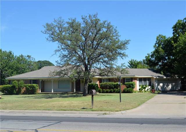 1201 W Westhill Drive, Cleburne, TX 76033 (MLS #14143928) :: RE/MAX Pinnacle Group REALTORS