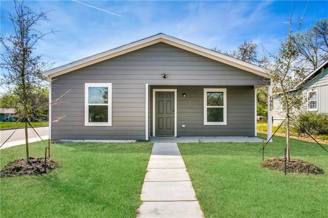 4986 Willie Street, Fort Worth, TX 76105 (MLS #14143934) :: All Cities Realty