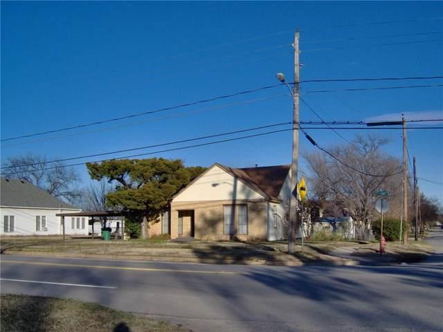 514 S Seaman, Eastland, TX 76448 (MLS #14143966) :: All Cities Realty