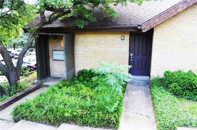 4630 Country Creek Drive #1214, Dallas, TX 75236 (MLS #14144040) :: RE/MAX Town & Country