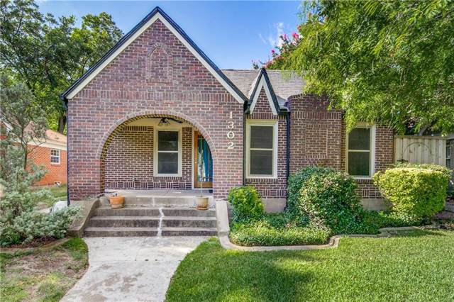 1302 Pioneer Drive, Dallas, TX 75224 (MLS #14144055) :: Magnolia Realty