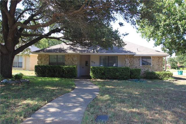 670 Rosehill Lane, Cedar Hill, TX 75104 (MLS #14144186) :: The Paula Jones Team | RE/MAX of Abilene