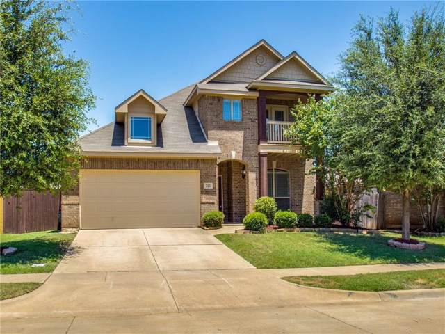 713 Hutchins Drive, Crowley, TX 76036 (MLS #14144235) :: RE/MAX Town & Country