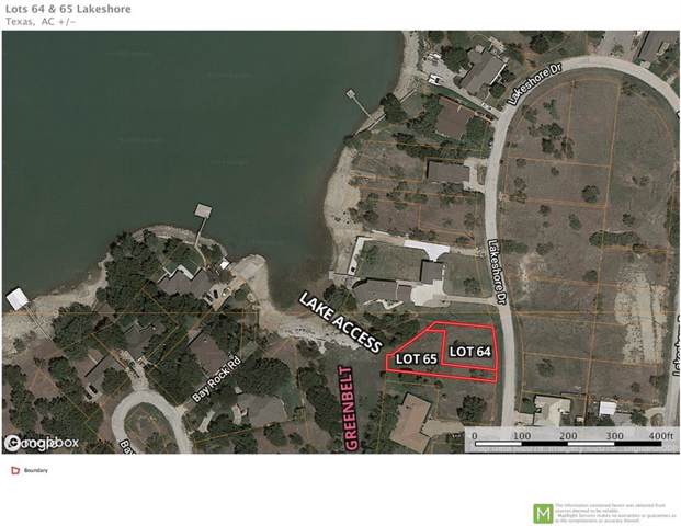 Lot 64 Lakeshore Drive, Runaway Bay, TX 76426 (MLS #14144256) :: All Cities Realty