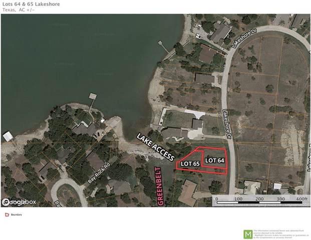 Lot 64 Lakeshore Drive, Runaway Bay, TX 76426 (MLS #14144256) :: Robbins Real Estate Group