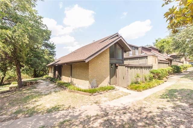 4651 Country Creek Drive #1121, Dallas, TX 75236 (MLS #14144282) :: RE/MAX Town & Country