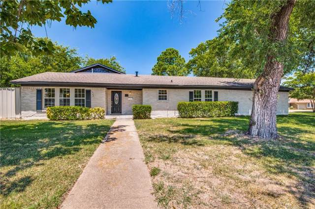 1627 Hendrix Drive, Irving, TX 75061 (MLS #14144291) :: RE/MAX Town & Country