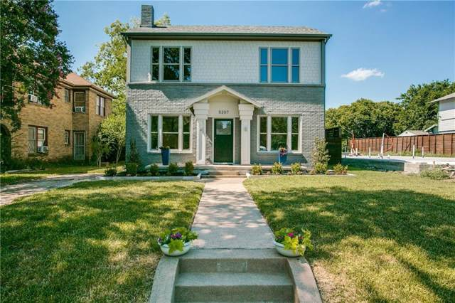 5207 Vickery Boulevard, Dallas, TX 75206 (MLS #14144297) :: Vibrant Real Estate