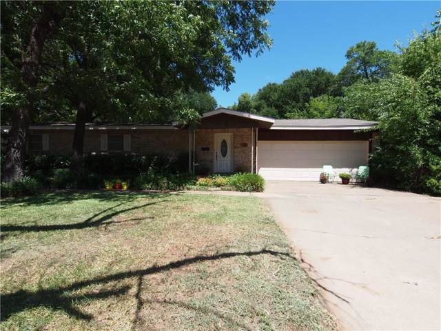 723 Cherry Street, Graham, TX 76450 (MLS #14144330) :: RE/MAX Town & Country
