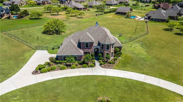 100 Rockhouse Drive, Aledo, TX 76008 (MLS #14144344) :: All Cities Realty